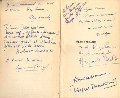 Marcel AYMÉ (1902-1967). Clérambard, pièce...