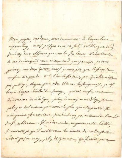 Jean Le Rond d'ALEMBERT (1717-1783). L.A.,...