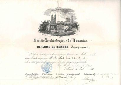 [Armand BASCHET (1829-1886) écrivain, archiviste...