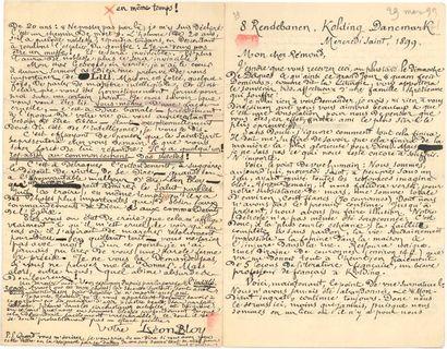 Léon BLOY. L.A.S., Kolding (Danemark) «Mercredi...