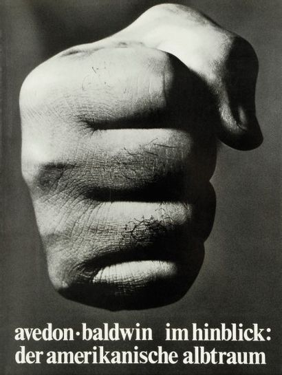 Richard Avedon. James Baldwin