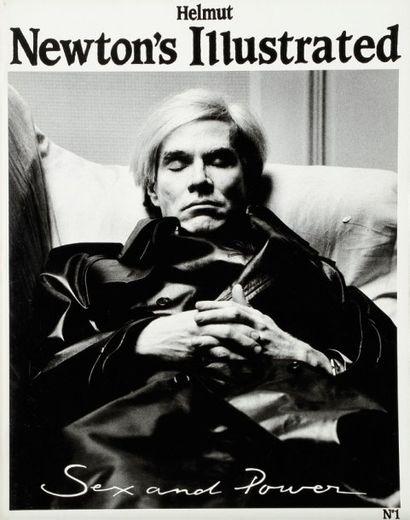 Helmut Newton's Illustrated N°1 à 4. Sex...