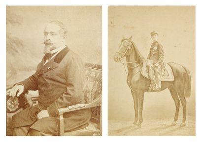 Personnalités. Cartes de visite, c. 1860-1875....