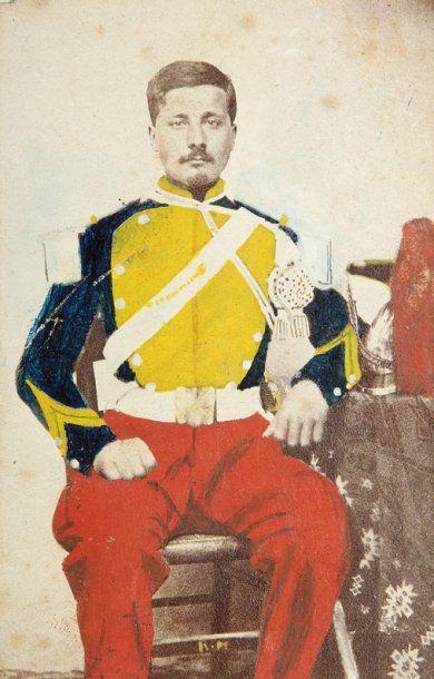 Militaires. Officiers. c. 1860-1890. Ensemble...