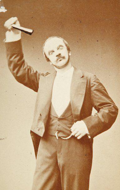 Théâtre, c. 1860-1880. Album contenant 76...