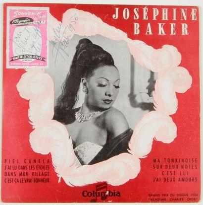 JOSÉPHINE BAKER Columbia, France, 1956. Signé...