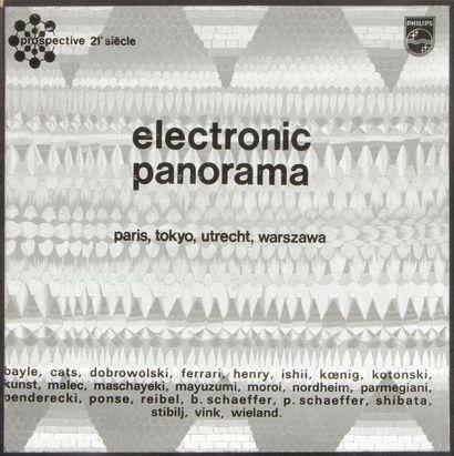 ELECTRONIC PANORAMA Coffret de quatre 33...