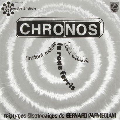 BERNARD PARMEGIANI « Chronos » Label Philips...