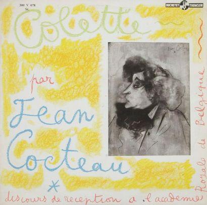 JEAN COCTEAU « Colette » Impression sur pochette...