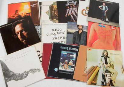 ERIC CLAPTON / CREAM Ensemble de 18 disques....