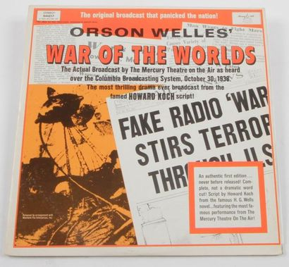 ORSON WELLES « War Of The Worlds » Longines...