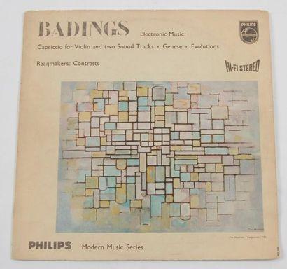 MONDRIAN « Badings » Philips, Hollande. 31...