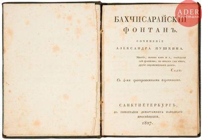 Alexandre Sergueevitch POUCHKINE (1799-1837)...