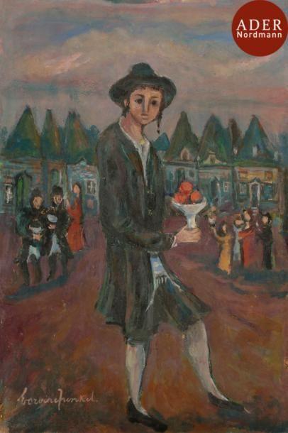 Boris BORVINE-FRENKEL (1895-1984) Les offrandes...