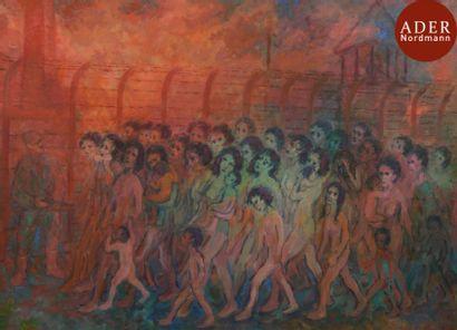 Nathan GUTMAN (1914-1978) Camps de concentration...
