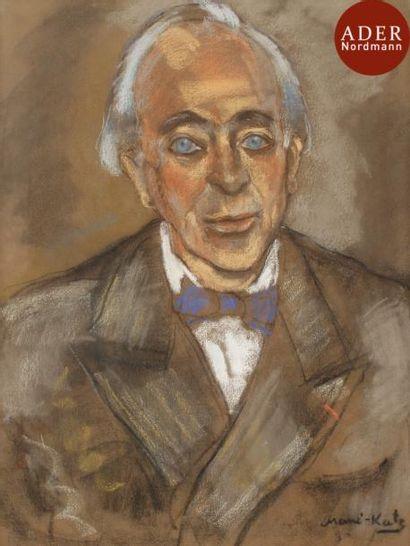 MANé-KATZ (1894-1962) Portrait de Roman Ghirshman,...