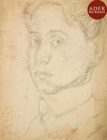 MANé-KATZ (Attribué à) (1894-1962) Autoportrait...