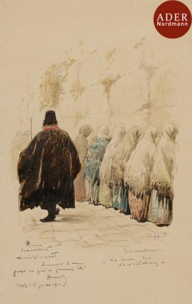 Henri MAIGROT (1857-1933), Jérusalem, le...