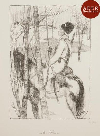 Abel PANN (1883-1963) Ensemble de 2 lithographies...
