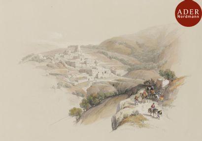 David ROBERTS (1796-1864) Lithographies :...