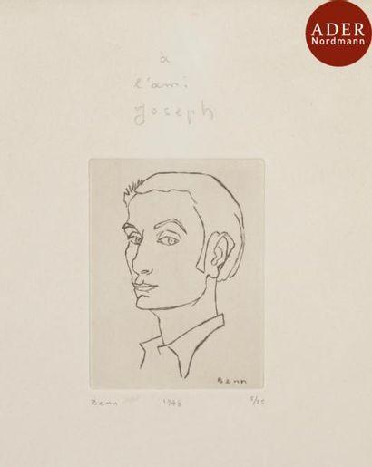 BENN (1905-1989) Ensemble de 10 estampes....