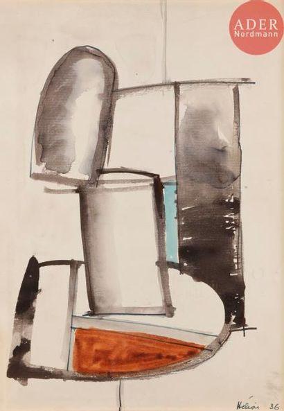 Jean HÉLION (1904-1987) Composition, 1936...