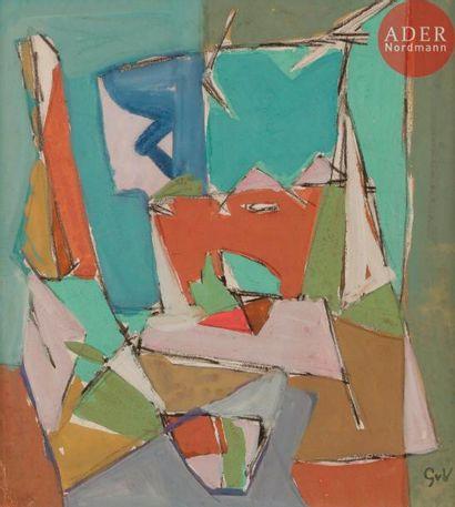 Geer VAN VELDE [hollandais] (1898-1978) Composition...