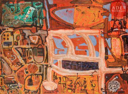François ARNAL (1924-2012) Composition, 1950...