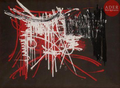 Georges MATHIEU (1921-2012) Composition,...