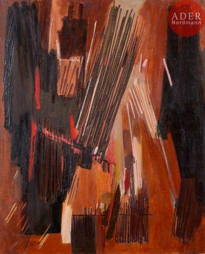 Huguette ARTHUR BERTRAND (1922-2005) Pomac,...