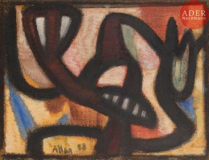 Jean-Michel ATLAN (1913-1960) Symphonie nocturne,...