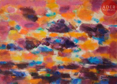 Jean LE MOAL (1909-2007) Composition, 1961...