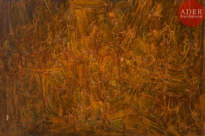 Roger Edgar GILLET (1924-2004) Composition,...