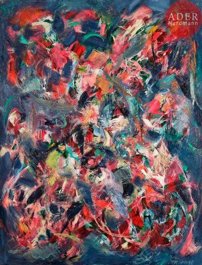Oscar GAUTHIER (1921-2009) Composition SU-ZDQ,...