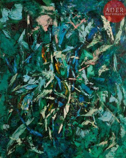 Oscar GAUTHIER (1921-2009) Forêt ou Composition...