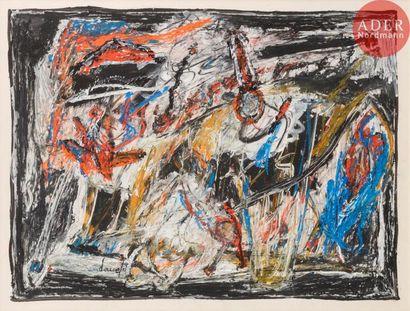Jacques DOUCET (1924-1994) Composition, 1979...