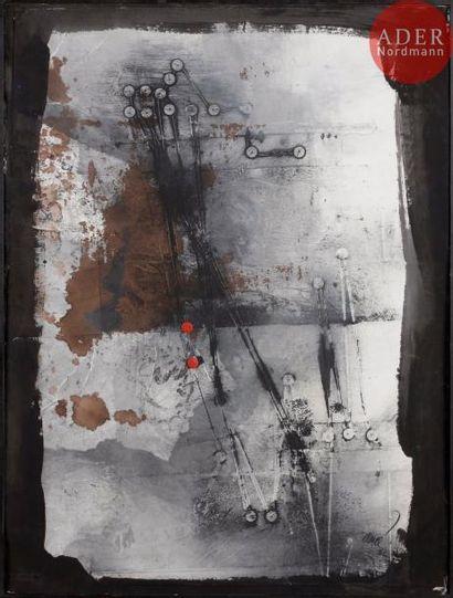 Antoni CLAVÉ [espagnol] (1913-2005) Composition,...