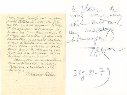 Maurice DENIS (1870-1943). L.A.S., Saint-Germain-en-Laye...