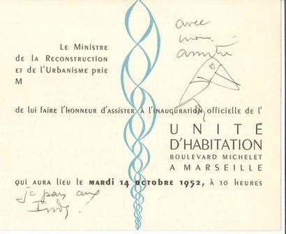 Édouard Jeanneret, dit LE CORBUSIER (1887-1965)....