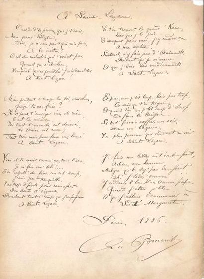 Aristide BRUANT (1851-1925) chansonnier....