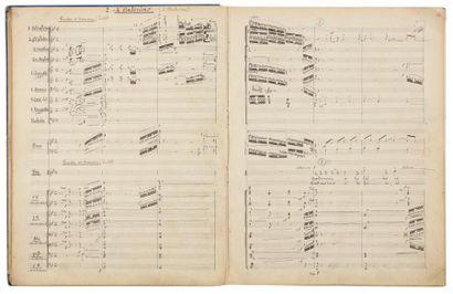 Joseph CANTELOUBE (1879-1957). Manuscrit...