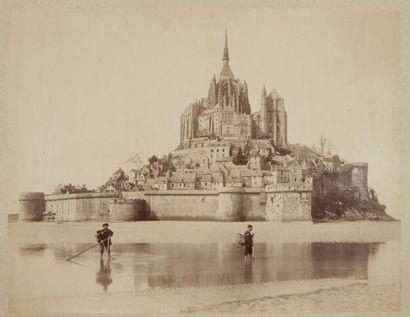 Neurdein Frères  Le Mont Saint Michel, c....