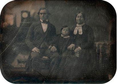 Daguerréotypiste non identifié  Portrait...