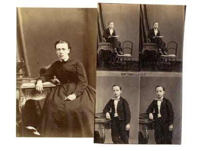 Eugène Disdéri (1819-1889)  Anette la bonne...