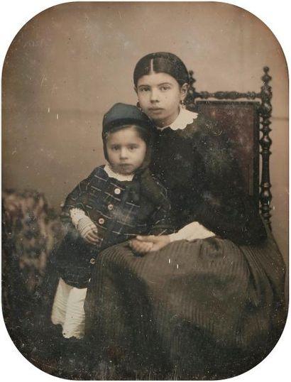 Daguerréotypiste non identifié  Portraits...