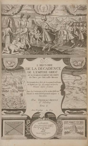CHALCONDYLE (Laonicus). Histoire générale...