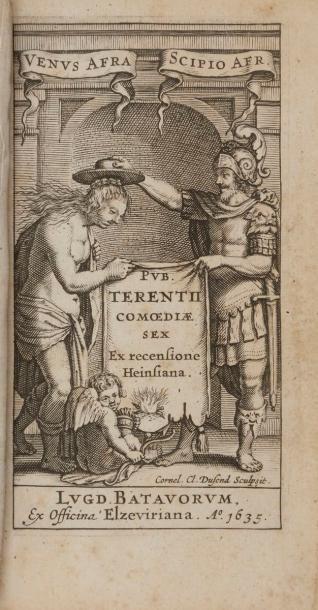 [ELZEVIER] - TÉRENCE. Pub. Terentii comœdiæ...