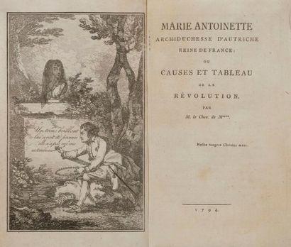 [MARIE-ANTOINETTE - MAYER (Charles-Joseph)]....