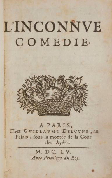 BOISROBERT (François Le Métel de). L'Inconnue....