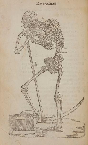 PARÉ (Ambroise). Dix livres de la chirurgie,...